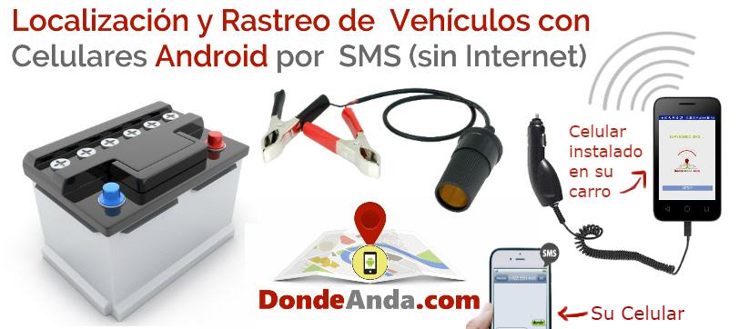 app localizar celular via sms